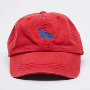 Blade + Blue Red Dachshund Logo Baseball Cap - Mookie