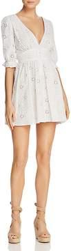 DAY Birger et Mikkelsen Re:Named Floral Eyelet Mini Dress