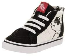 Vans Toddlers Sk8-hi Zip (peanuts) Skate Shoe.