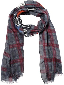 Punk Poem Plaid Modal & Cashmere Scarf