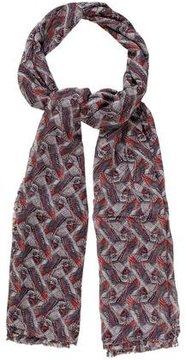 Thomas Wylde Bird Printed Silk Scarf w/ Tags