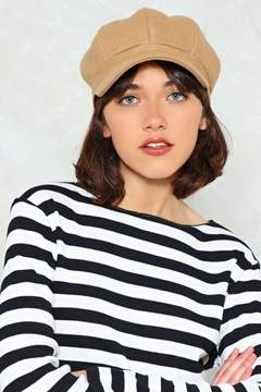 Nasty Gal nastygal Quit While You're a Head Baker Boy Cap