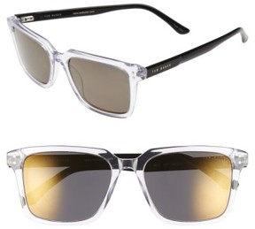 Ted Baker Men's 'Tedster' 56Mm Polarized Sunglasses - Crystal