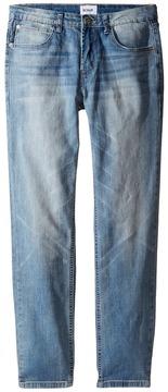 Hudson Jagger Slim Straight Five-Pocket in Grand Wash (Big Kids)