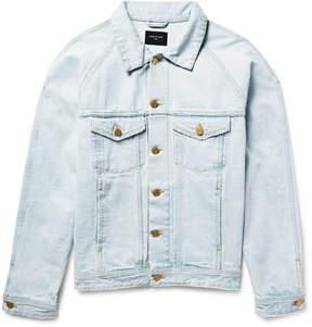 Fear Of God Distressed Selvedge Denim Jacket
