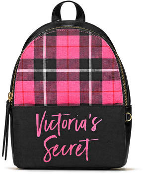 Victoria's Secret Victorias Secret PINK Plaid Small City Backpack
