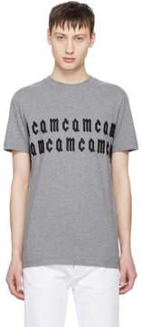 McQ Grey Repeat Logo T-shirt