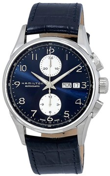 Hamilton Jazzmaster Maestro Chronograph Automatic Blue Dial Men's Watch
