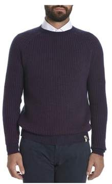 H953 Men's Purple Wool Sweater.