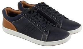 Steve Madden Fisk Navy Mens Lace Up Sneakers