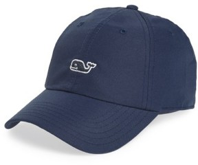 Vineyard Vines Men's Whale Performance Baseball Cap - Blue