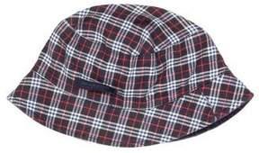 Burberry Boys' Reversible Nova Check Hat