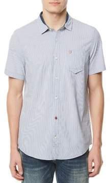 Buffalo David Bitton Soqanz Short-Sleeve Utility Shirt