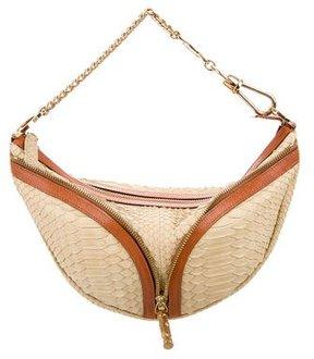 Versace Python Shoulder Bag