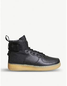 Nike SF AF1 17 mid-top leather trainers