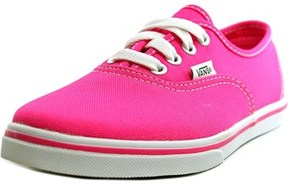 Vans Authentic Lo Pro Round Toe Canvas Sneakers.