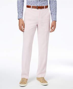 Sean John Men's Classic-Fit Stretch Pink Solid Suit Pants