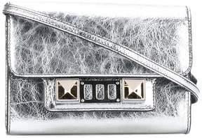 Proenza Schouler Metallic PS11 wallet with strap