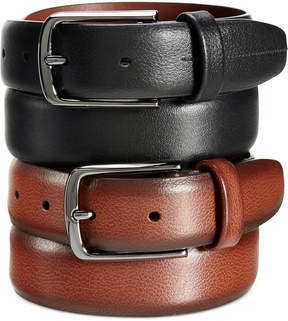 Perry Ellis Men's Park Avenue Leather Belt