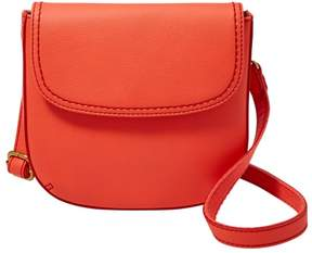 Fossil Fannie Convertible Crossbody Handbags Neon Red