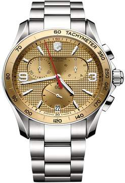 Victorinox Chrono Classic Stainless Steel Watch, 41mm