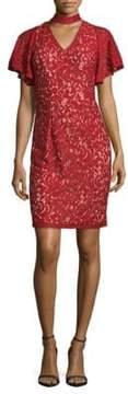 Alexia Admor Lace Choker Dress