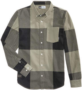 Lrg Men's Yukon Jack Plaid Shirt
