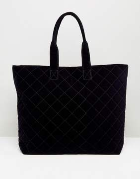 Pieces Quilted Shopper Bag