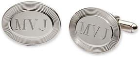 Asstd National Brand Personalized Oval Cuff Links