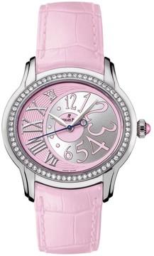 Audemars Piguet Millenary 77301st.zz.d602cr.01 Stainless Steel & Leather 39.5mm x 35.5mm Watch