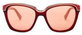 Diane von Furstenberg Kylie 57mm Oversized Sunglasses