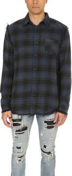 R 13 Shredded Seam Shirt