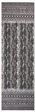 St. John Raja Snakeskin Print Silk Georgette Scarf