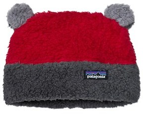 Patagonia Baby Furry Friends Hat Classic Red