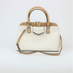 Calvin Klein Leather and Cork Satchel