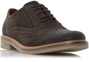 Dune London BRINDLE - BROWN Burnished Detail Brogue Shoe