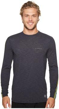 VISSLA Dredgers Long Sleeve Surf Tee Men's T Shirt