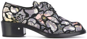 Laurence Dacade Jeanne Floral Mesh derby shoes