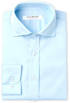 Isaac Mizrahi Boys 4-7) Blue Dress Shirt
