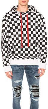 Amiri Check Star Pullover Hoodie