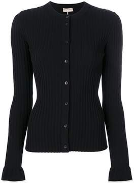 Emilio Pucci contrast detail ribbed cardigan