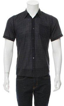 Dries Van Noten Plaid Button-Up Shirt