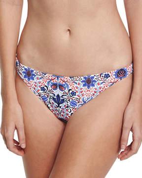 Letarte Classic Hipster Swim Bikini Bottom, Multiprint