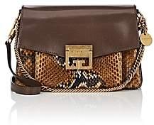 Givenchy Women's GV3 Leather & Python Shoulder Bag-Amber