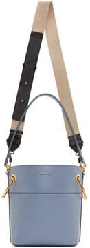 Chloé Blue Small Roy Bucket Bag
