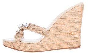 Michael Kors Embellished Wedge Sandals