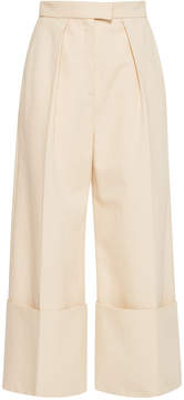 DELPOZO Flared Wide Legged Trousers