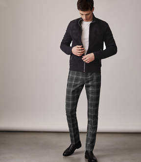 Reiss Russell Slim Fit Check Trouser