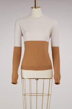 Jil Sander Bicolor Cashmere Sweater