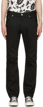 Junya Watanabe Black Cotton Jeans